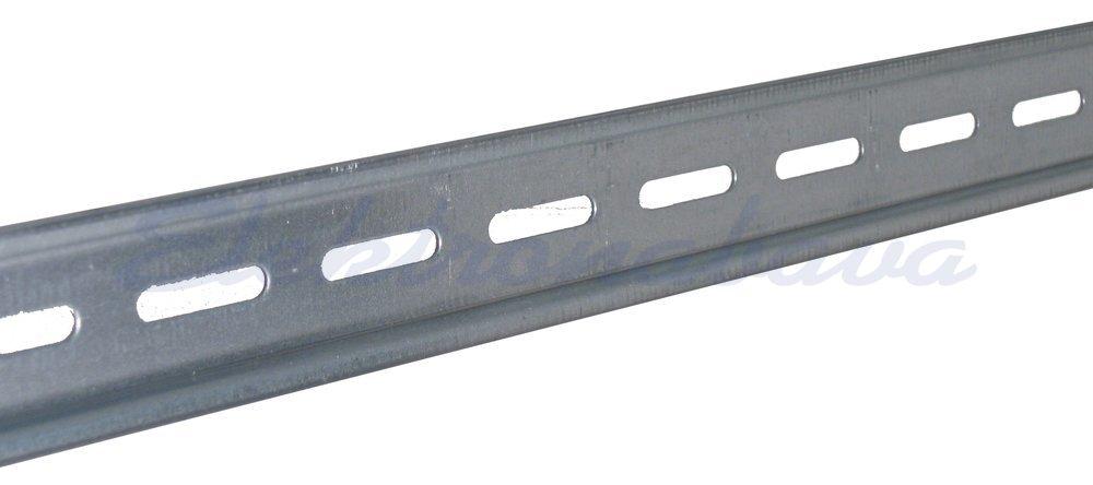 Slika izdelkaMontažna letev DIN I DIDO 35mm 7,5mm 1000mm perforirana kovina