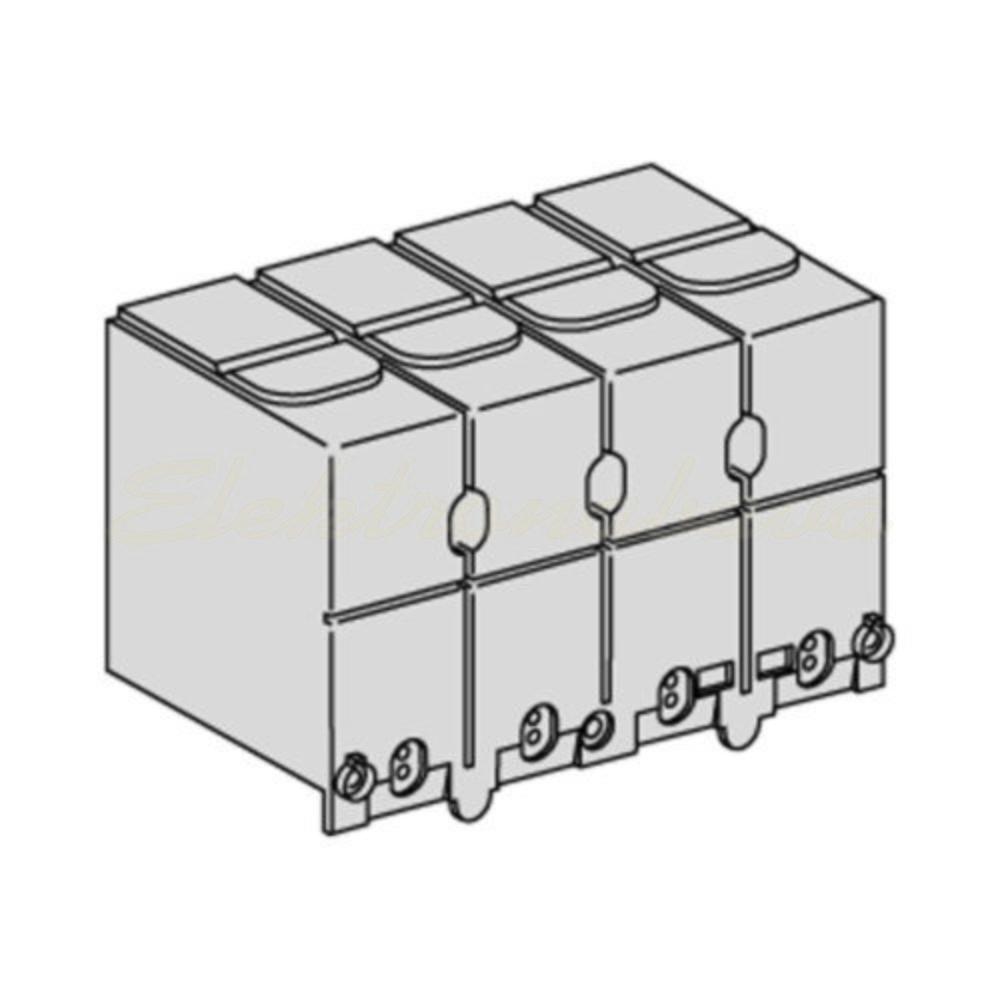 Slika izdelkaBrem. / loč. stikalo razno COMPACT INS prekritje sponk 3/4P (pak =2 kos)