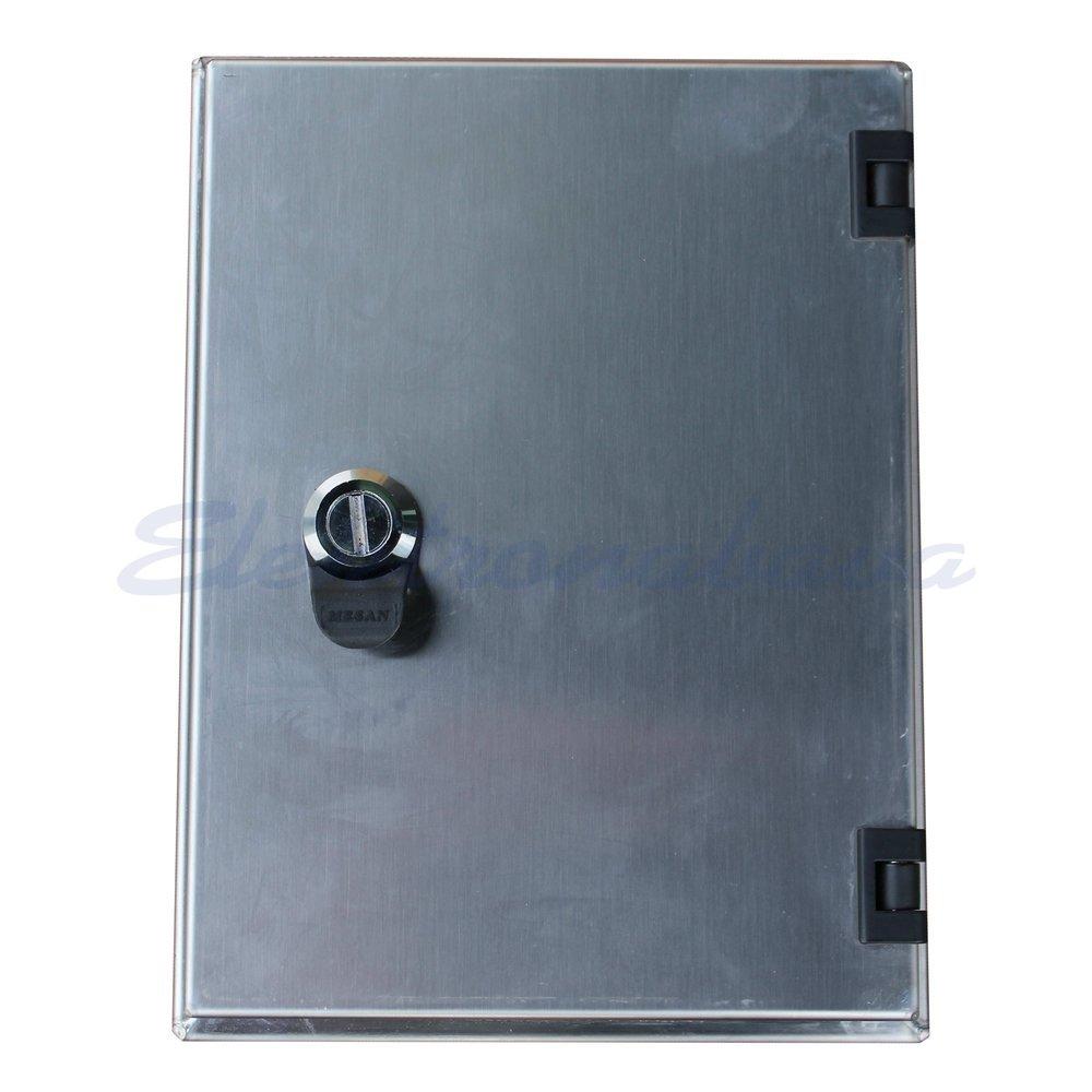 Slika izdelkaTelefonska omarica IB INOX P/O 255mm 340mm 110mm Inox IP44 KKS