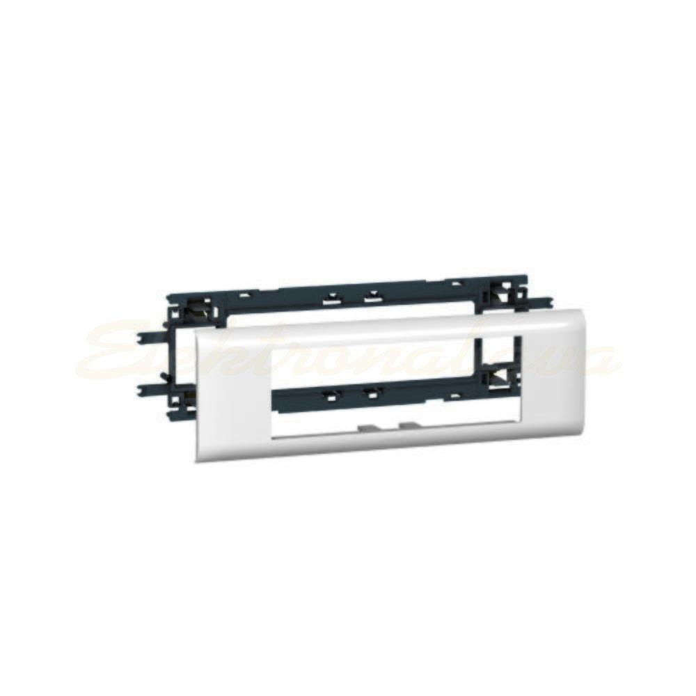 Slika izdelkaOkvir vtičnice za parapetni LEGRAND DLP 65mm 6M čisto bela