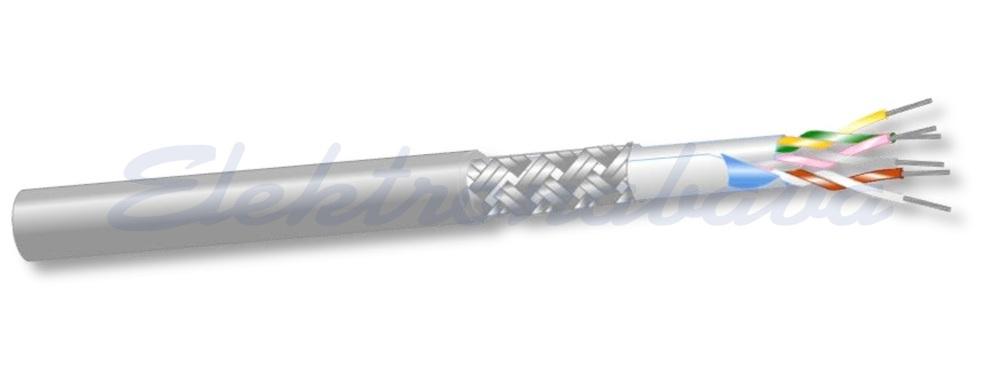 Slika izdelkaSignalni kabel LI-Y(ST)Y   2X0,5 + 8X0,22