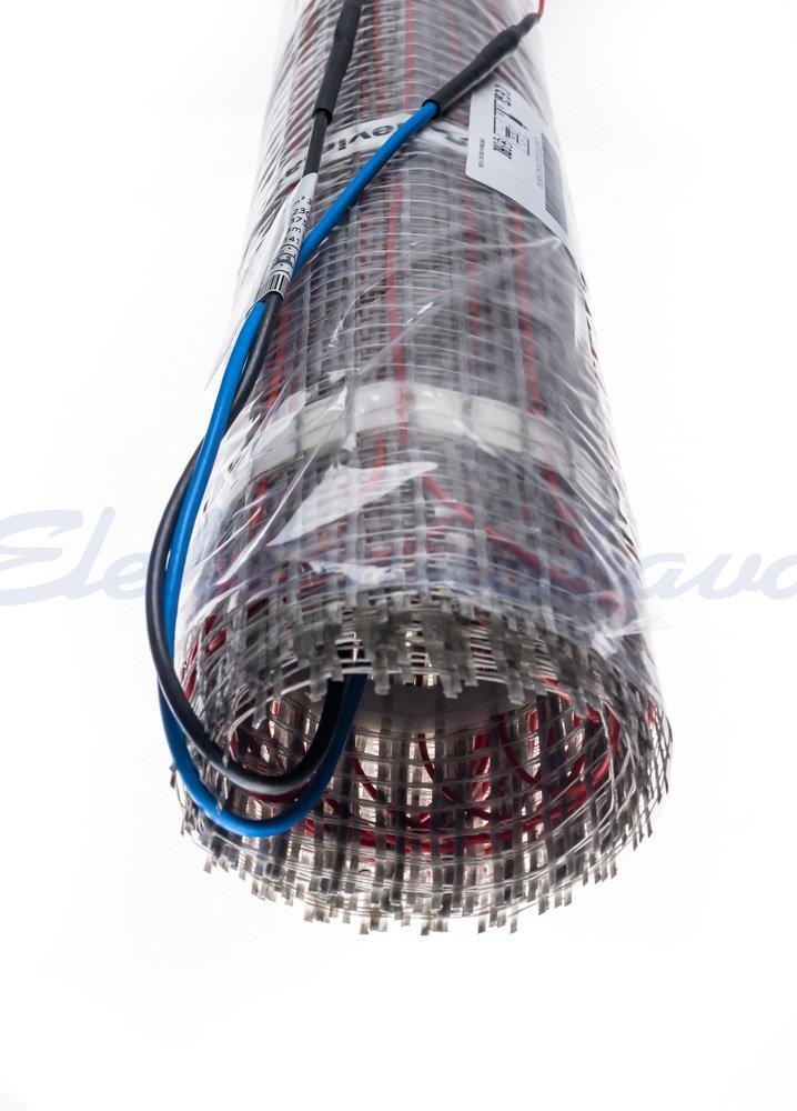 Slika izdelkaGrelna preproga DEVIheat 150 (DSVF) enožilna 2m2 150W/m2 300W 230V 4m 0,5m
