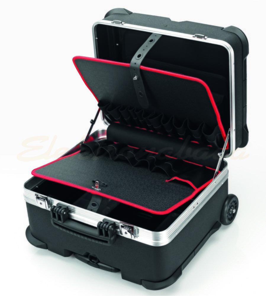 """Slika izdelkaOrodje, shranjevanje Cimco kovček """"JUMBO"""" 470mm 350mm 390mm črn"""