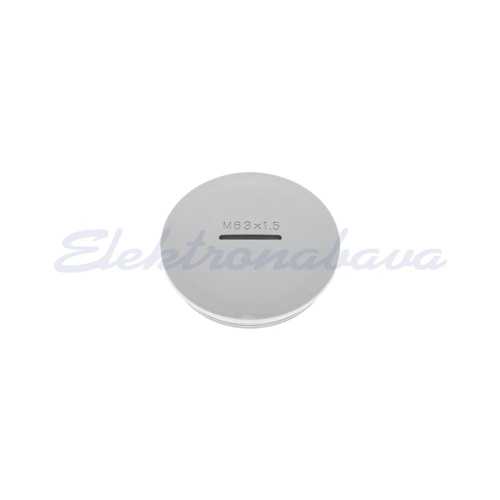 Slika izdelkaČep HAUPA M 63 1,5mm PVC sv.siva