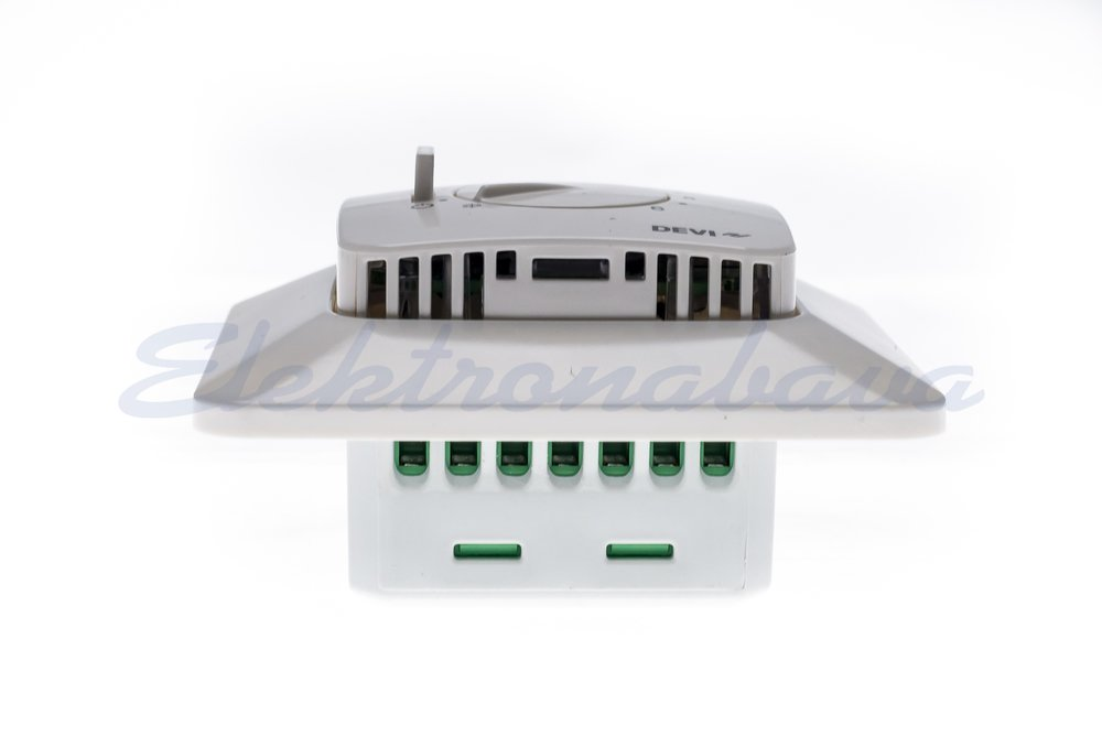 Sobni termostat DEVIreg 530 P/O analogni BE 5-35ST.C s talnim tipalom