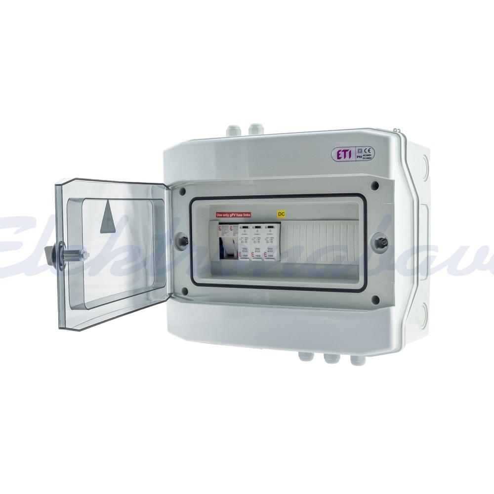 Slika izdelkaOprema, solarna, razno PV DC omarica 1xvh, tip C, 1000V - ECH12