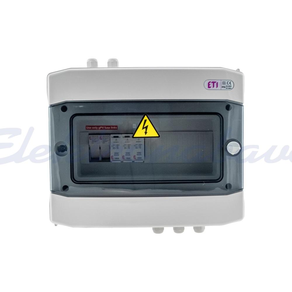 Oprema, solarna, razno PV DC omarica 1xvh, tip C, 1000V - ECH12