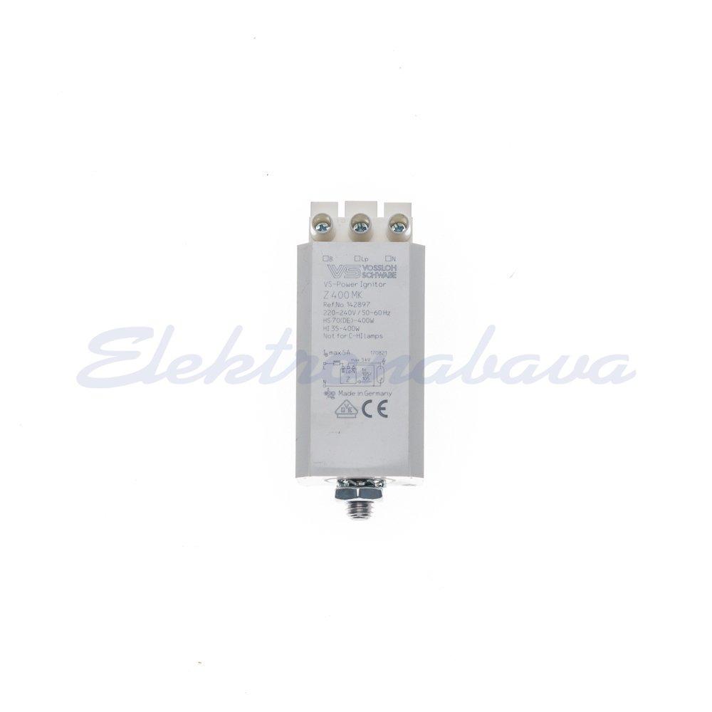Vžigna naprava/ignitor (HID) VOSSLOCH Z 400 MK kvadrat 35-400W 230V