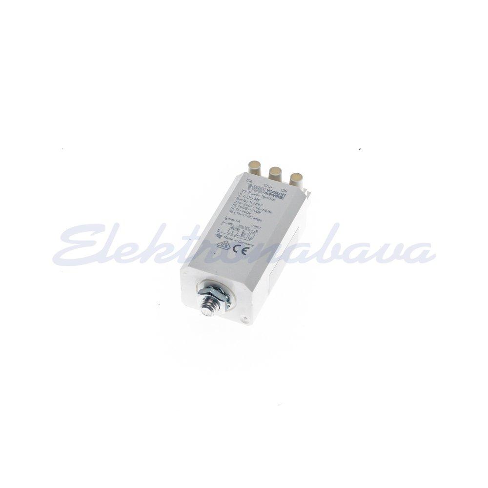 Slika izdelkaVžigna naprava/ignitor (HID) VOSSLOCH Z 400 MK kvadrat 35-400W 230V