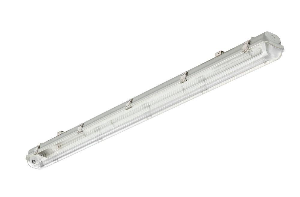 Slika izdelkaSvetilka za vlažne prostore LEDINAIRE WT050C DE 2xTLED L1500 Ohišje 2x G13 SI 1500mm IP65 220-240V IK08