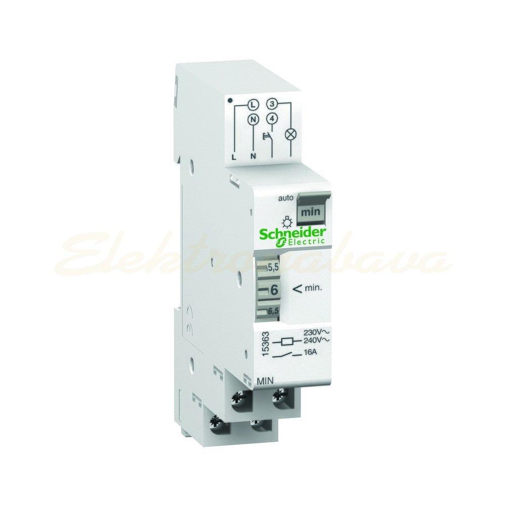 Slika izdelkaStopniščni avtomat ACTI9 MIN 230V AC 16A 1-7min 1NO 1M