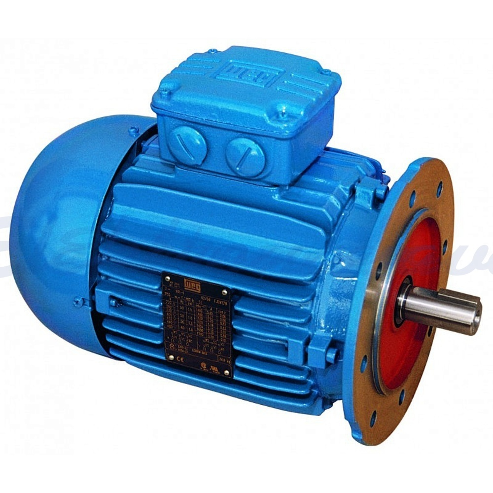 Slika izdelkaTrifazni elektromotor WEG 1,1kW 1400o/min 230/400V AC B5 C200/F165 24mm IE2