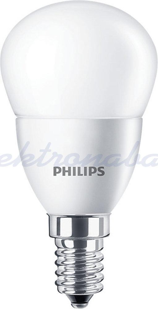 Slika izdelkaLED sijalka BUČKA CorePro LEDlustre P45 5,5-40W 520lm 840 E14 brez zatemnitve Mat 220-240V A+