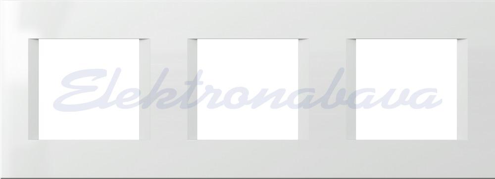 Slika izdelkaOkrasni okvir MODUL LINE Unipack 3x2M BE PVC