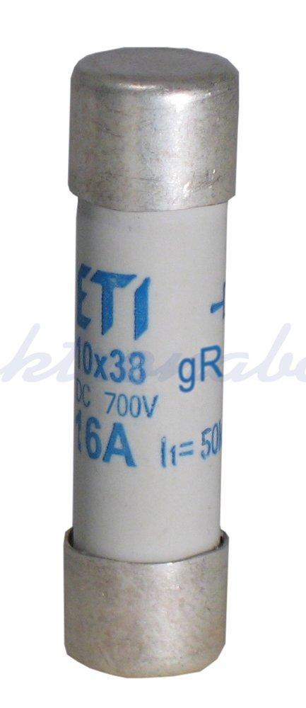 Slika izdelkaTalilni vložek C PV 10x38 mm 20A gPV 1000V DC
