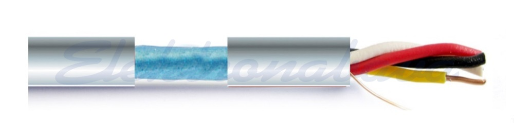 Slika izdelkaInštalacijski TK kabel J-Y(St)Y Bd 1X2X0,8mm RD Eca 250m