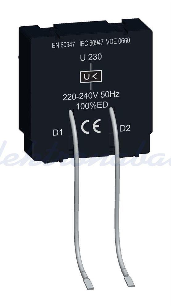 Slika izdelkaPodnapetostni sprožnik za MZS MS 220V AC