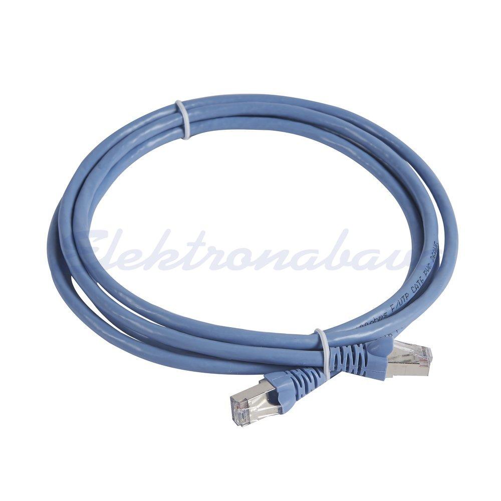 Slika izdelkaPriključni kabel LINKEO F/UTP Cat.6 2m Cu, modro/zelen, PVC
