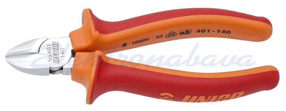 Slika izdelkaRočno orodje, klešče Unior 461 VDE stranske 160mm