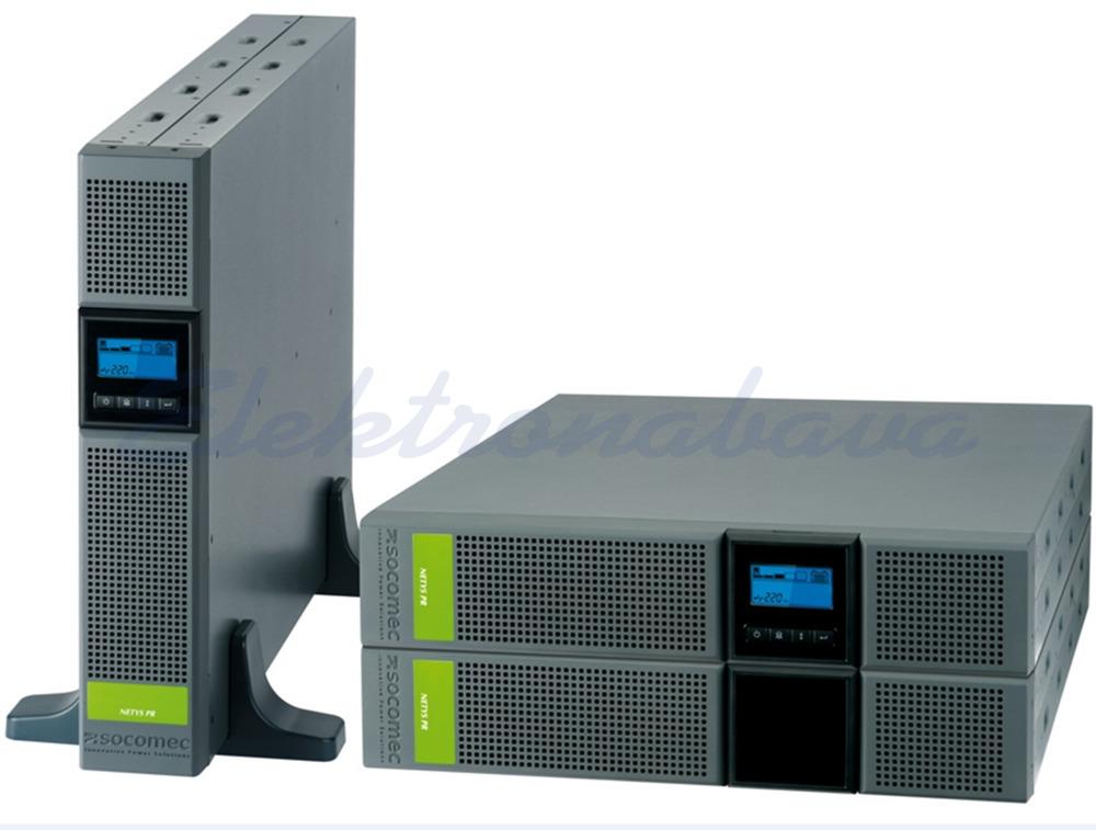 Slika izdelkaNapajalniki UPS Netys PR RT 2200VA / 1800WVA 230V Line-interaktivni sinusni RS232 USB 440mm 87mm 608mm 8xIEC