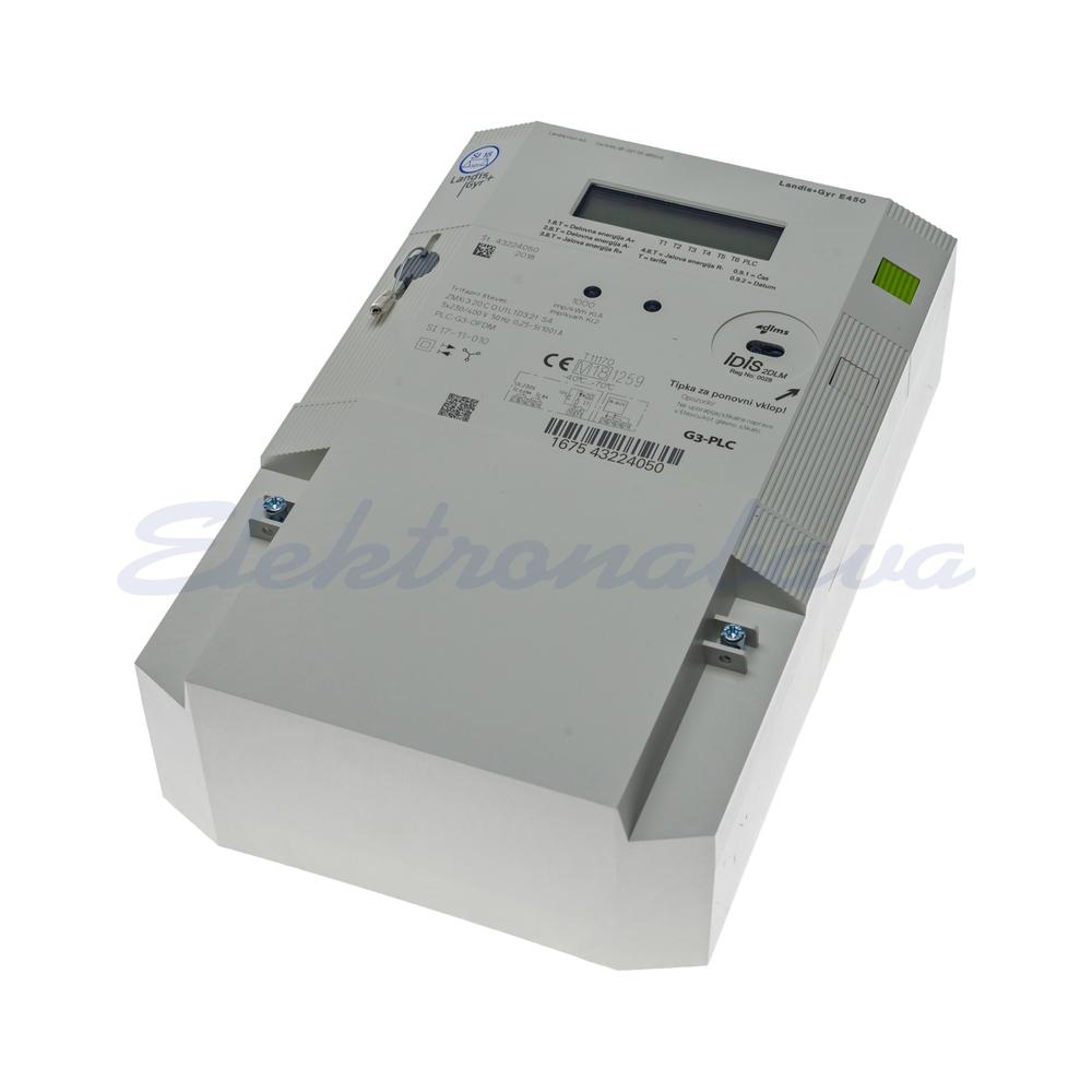 Števec električne energije ZMXi320CQU1L1D3.21S4+ G3-PLC 3F 2TAR. Z odklopnikom 3x230/400V 100A