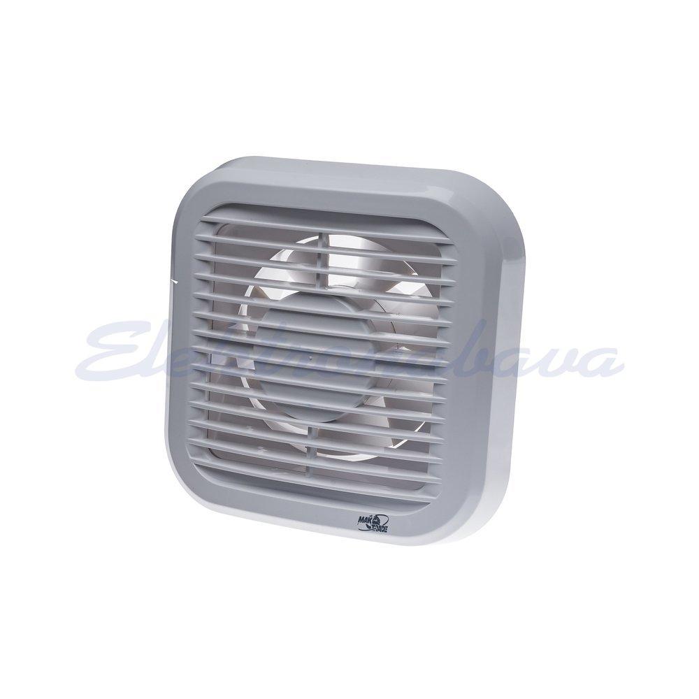 Stanovanjski ventilator MTG N standard fi120mm 230V BE IPX4 PVC 190m3/h