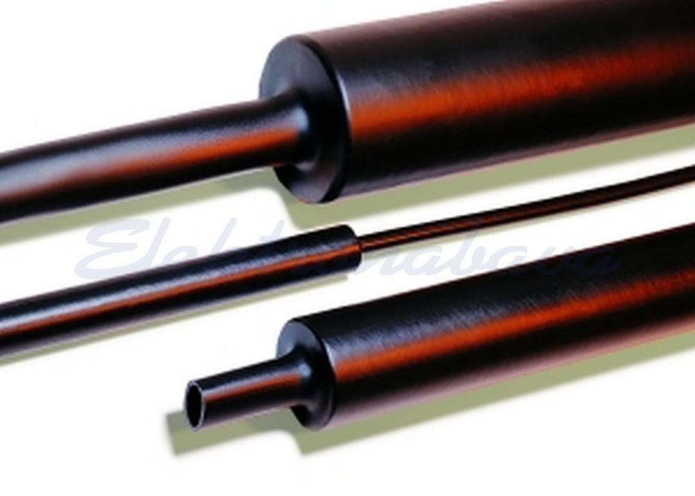 Slika izdelkaToplotno skrčljiva cev Hellermanntyton 4:1 MA47-30/8 30mm 8mm 1m srednja-stensko ČR -55ST.C 04:01 z lepilom