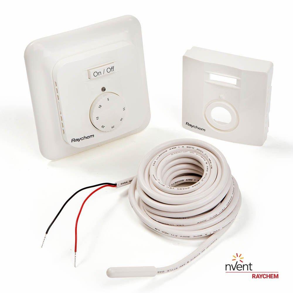 Slika izdelkaSobni termostat RAYCHEM P/O analogni BE 5-35ST.C s talnim tipalom