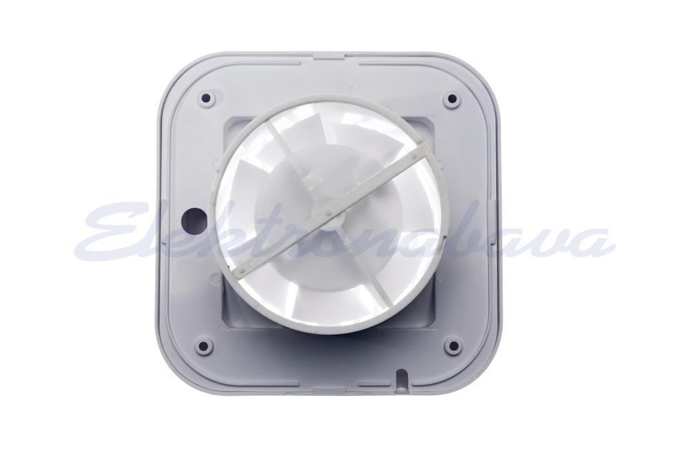 Stanovanjski ventilator MTG N standard fi100mm 230V BE IPX4 PVC 98m3/h