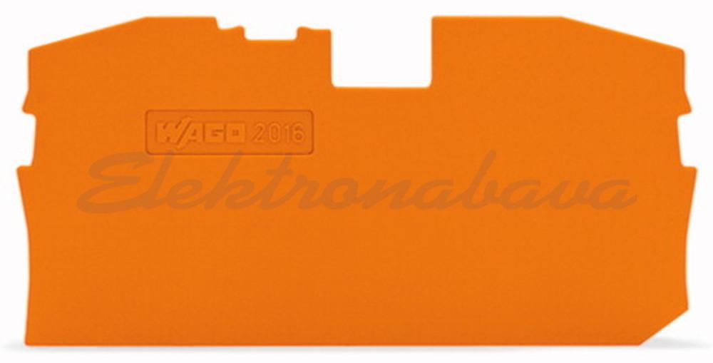 Slika izdelkaKončna in vmesna ploščica WAGO TOPJOB za 16mm2 OR 1mm