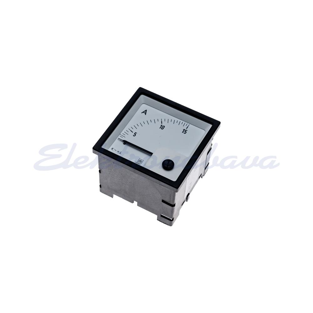 Slika izdelkaVgradni ampermeter FQ0307 15A AC 72mm 72mm SK: 0-15A
