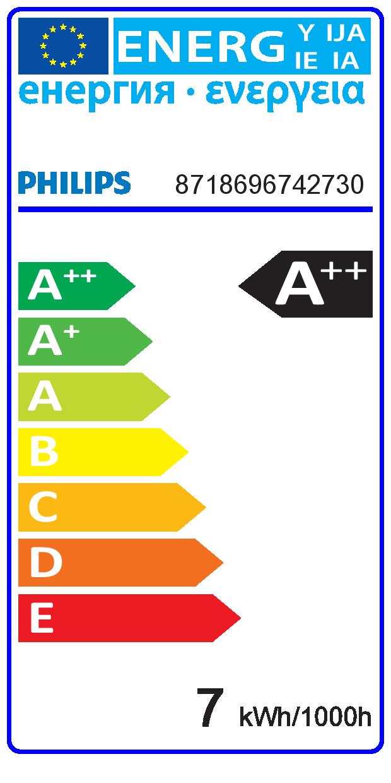 LED sijalka KLASIČNA CLASSIC LED Bulb A60 7-60W 806lm 827 E27 brez zatemnitve Bistra retrofit 220-240V A++