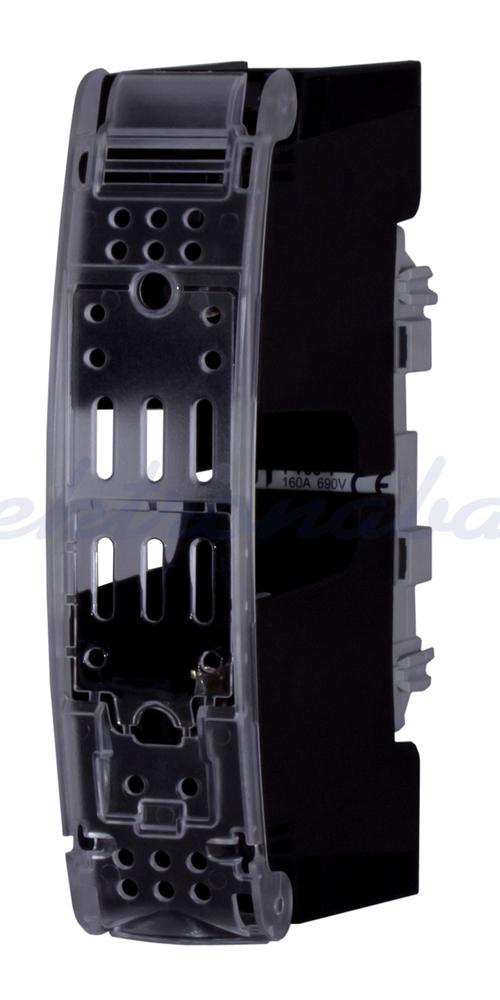 Slika izdelkaPodstavek za varovalke NV NV/NH NV00 160A 1P M8-M8 izoliran