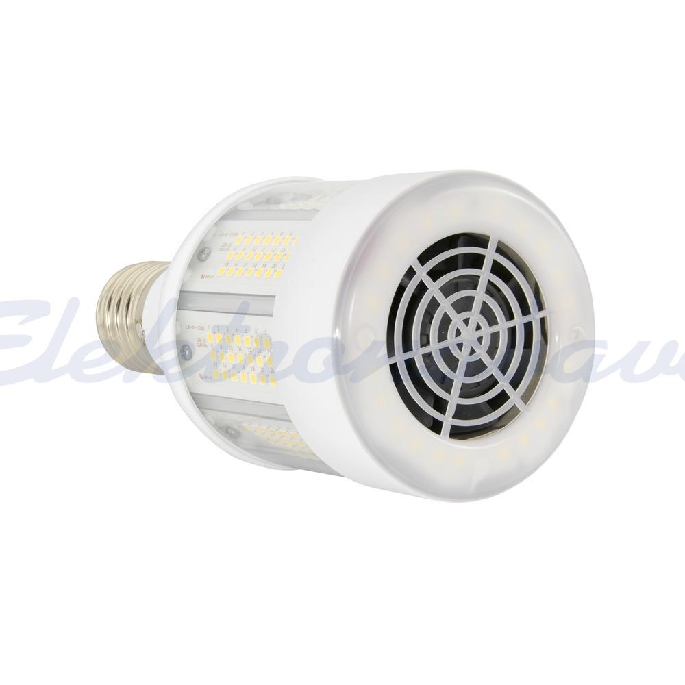 LED sijalka INDUSTRIJSKA LED HID 150-400W 23000lm 4000K E40 360st. brez zatemnitve 211mm Prozorna 220-240V A++