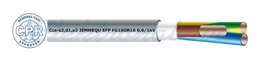 Slika izdelkaNN kabel FG16OR16 3G4mm2 SI Cca - s3, d1, a3 boben