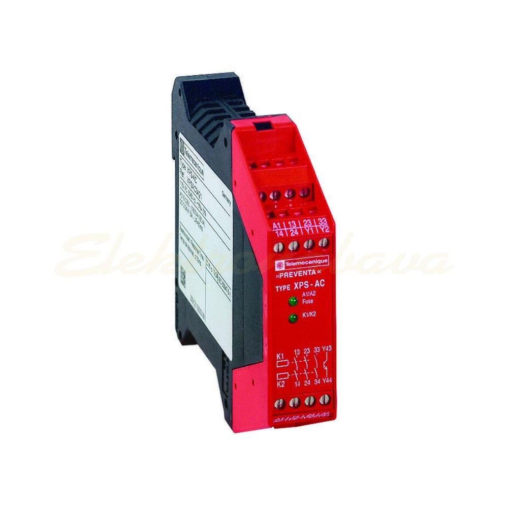 Slika izdelkaRele za varnostne tokokroge SCHNEIDER MODUL XPSAC3721 230V AC