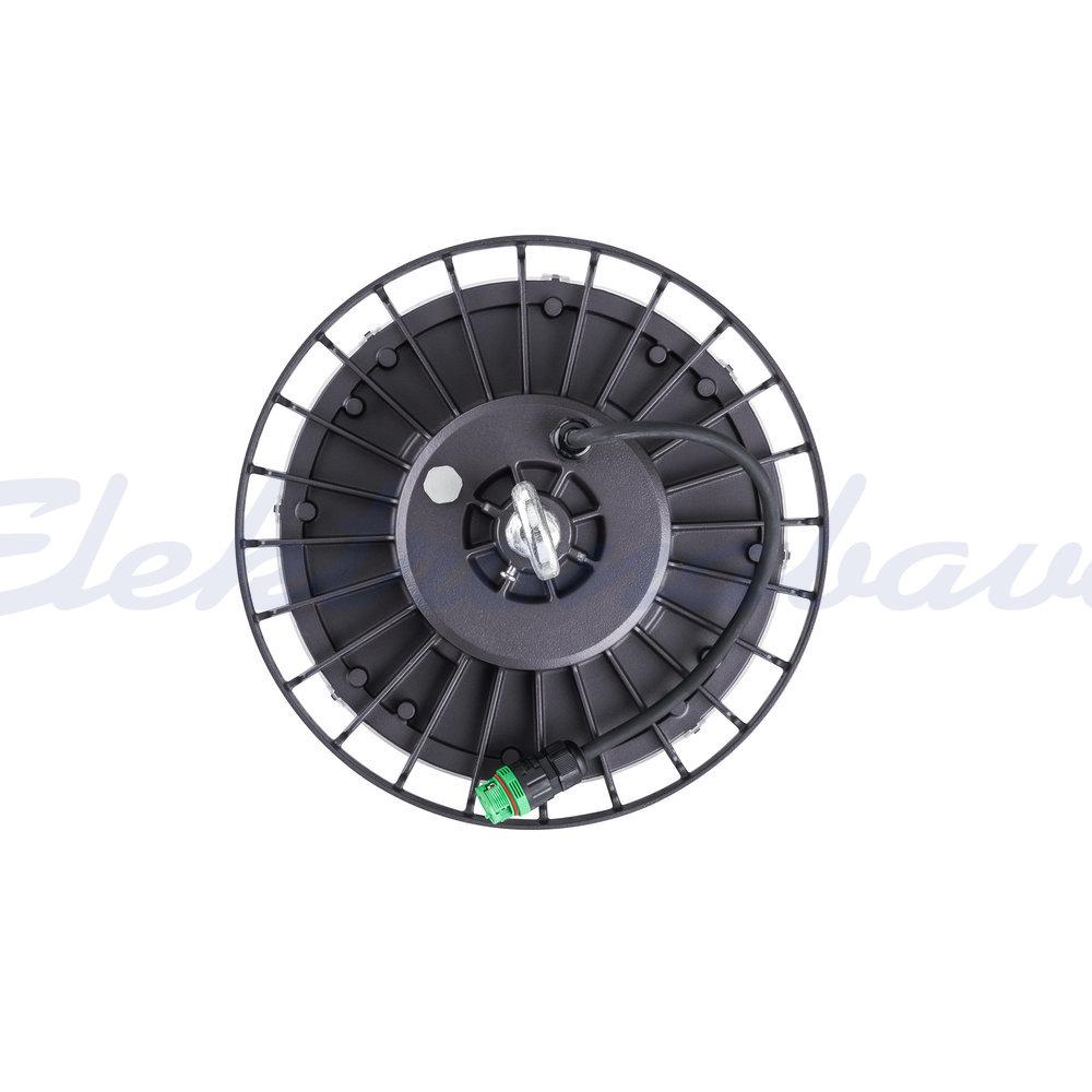 Svetilka za industrijske hale LEDINAIRE HighBay BY021P G2 LED200S/840 PSU WB GR LED 168W 4000K 20500lm LED driver SI Širok snop 90st. IP65 220-240V CRI>80