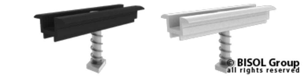 Slika izdelkaPribor za solarno konstrukcijo BISOL EasyMount vmesna spojka 35mm, sestavljena
