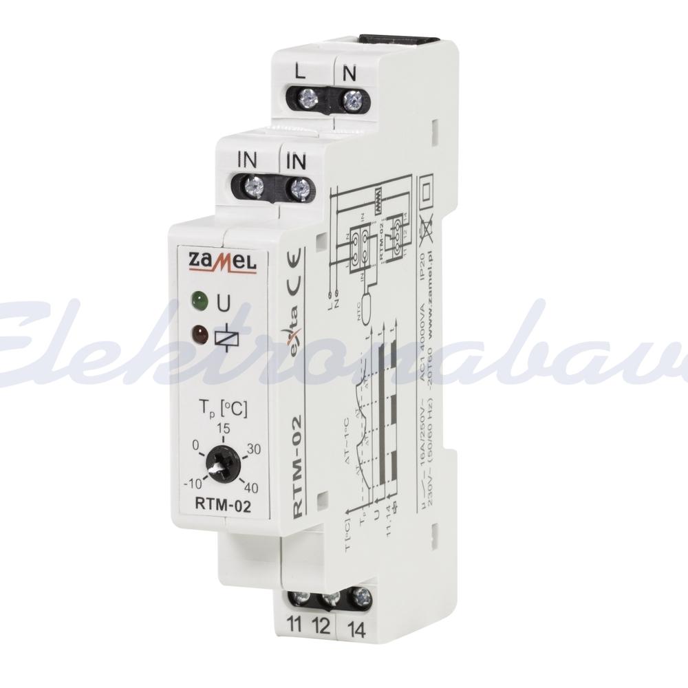 Slika izdelkaTermostat MATEC 230V -10-40ST.C 16A DIN 1M