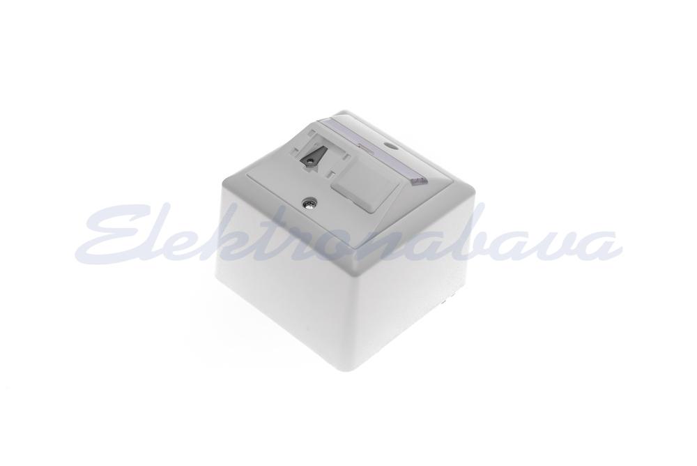 Slika izdelkaVtičnica, nadometna R&M GLOBAL 80X80 2x1 Port