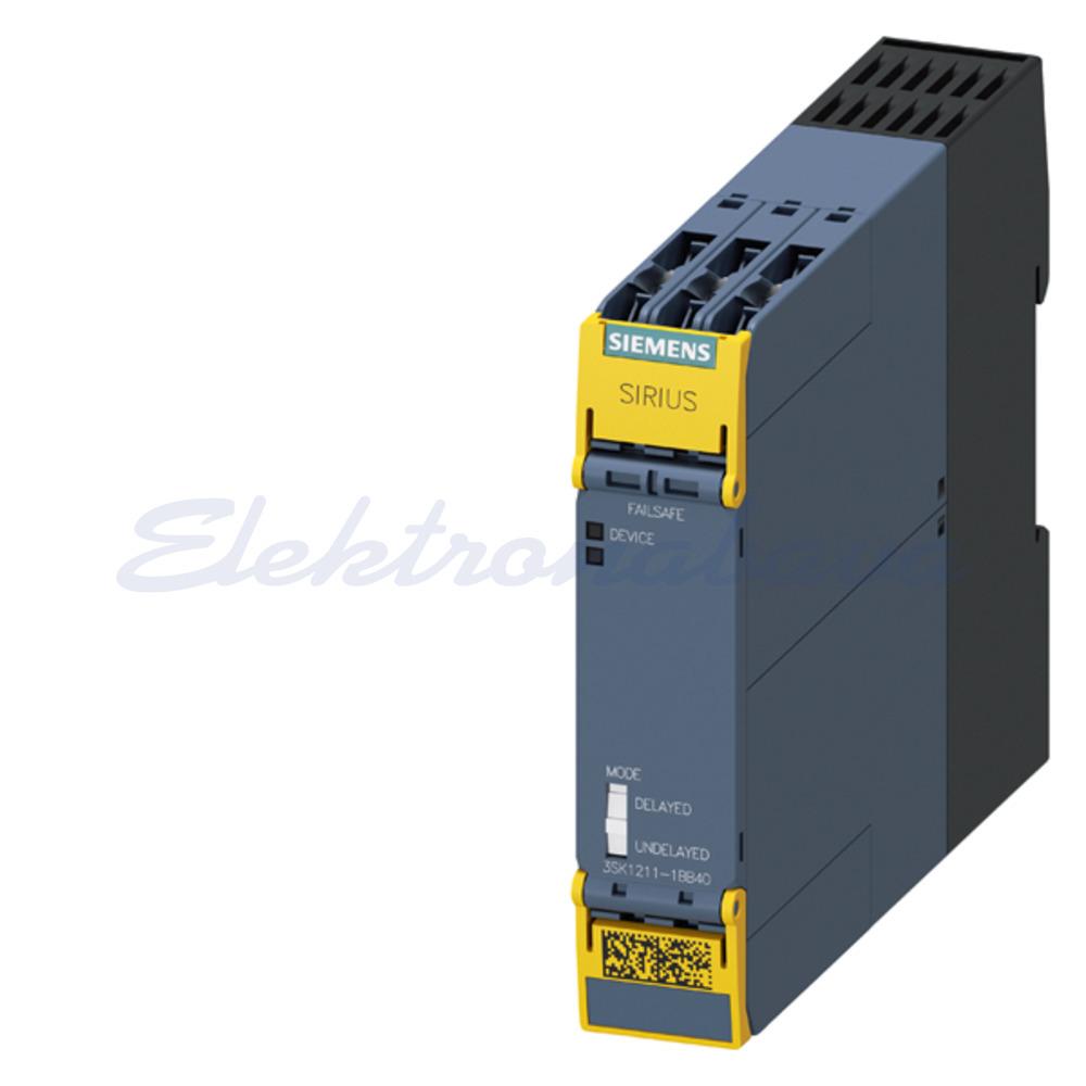 Slika izdelkaRele za varnostne tokokroge SIRIUS 4NO+1NC(signal) 24V DC