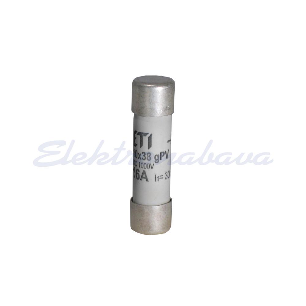 Slika izdelkaTalilni vložek C PV 10x38 mm 10A gPV 1000V DC