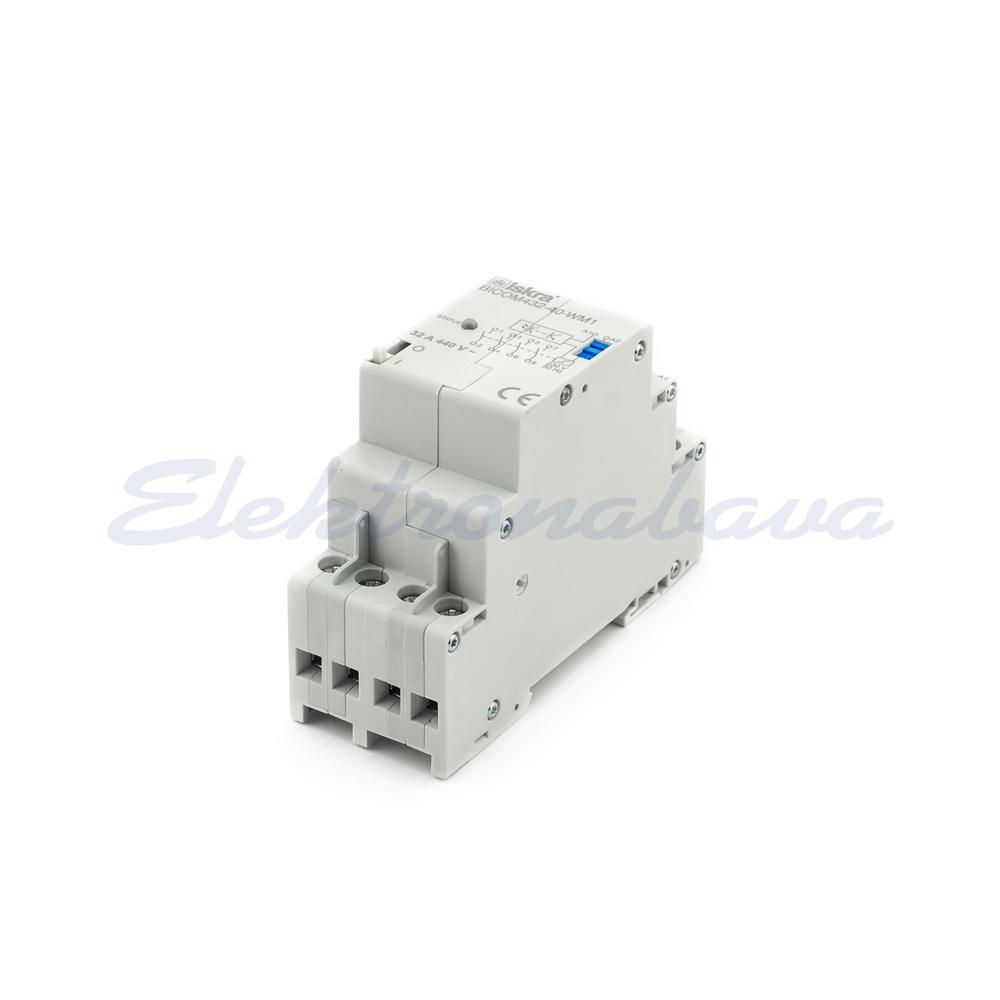 Slika izdelkaPribor za nadzorni sistem ISKRA RELE, 32A 4 polni, 230V, IR