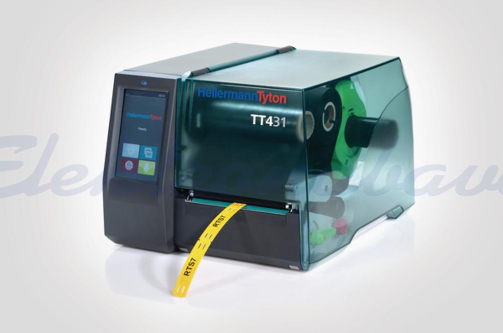 Tiskalniki za nalepke, pribor Hellermanntyton LABEL PRINTER TT431 300 DPI