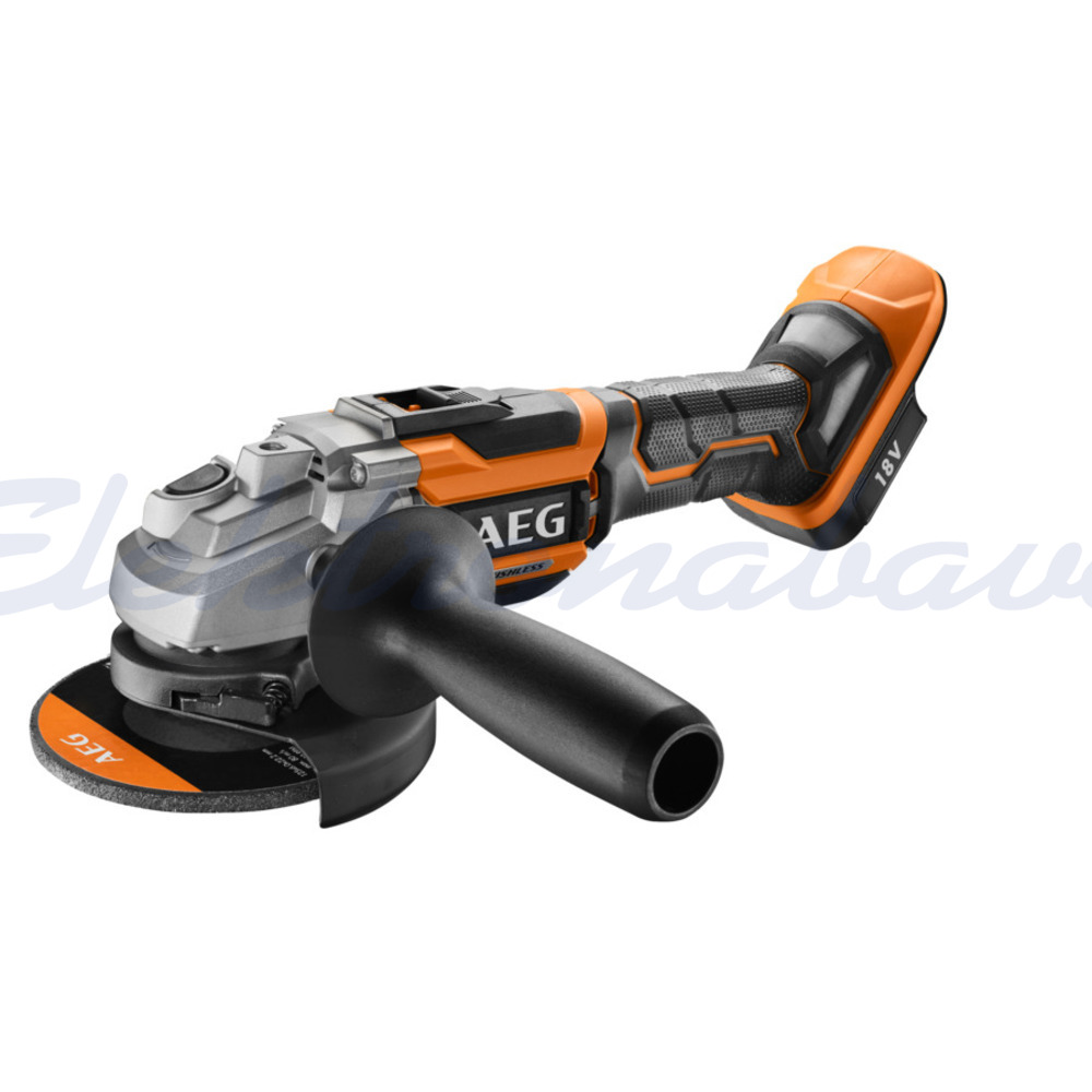 Slika izdelkaElek. orodje, kotni brusilnik AEG BEWS18-125BL-0 BRUSHLESS (brez baterije) 18V 125mm
