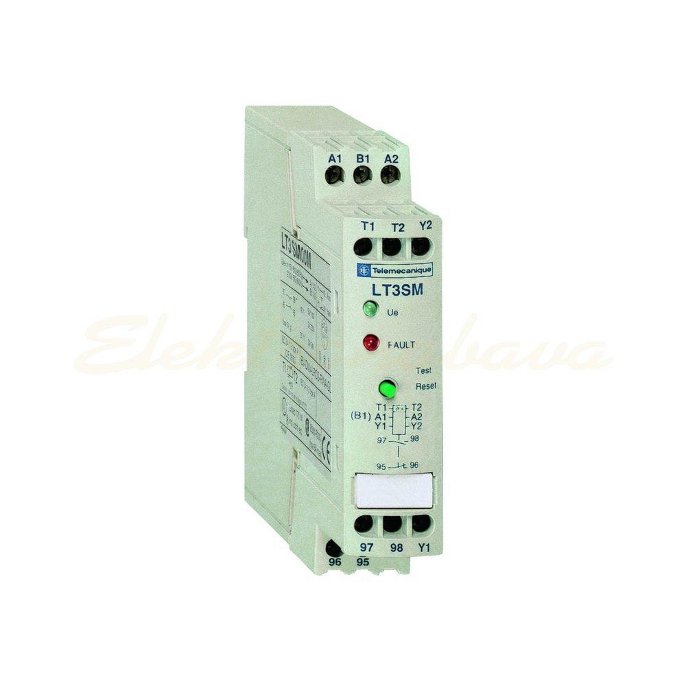 Slika izdelkaRele za nadzor temper. motorja SCHNEIDER PTC ROCNI RELE 110/230V AC 115V AC 1NO 1NC