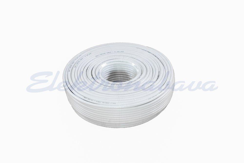 Slika izdelkaKoaksialni kabel RG 6 Al 75Ohm BE Eca