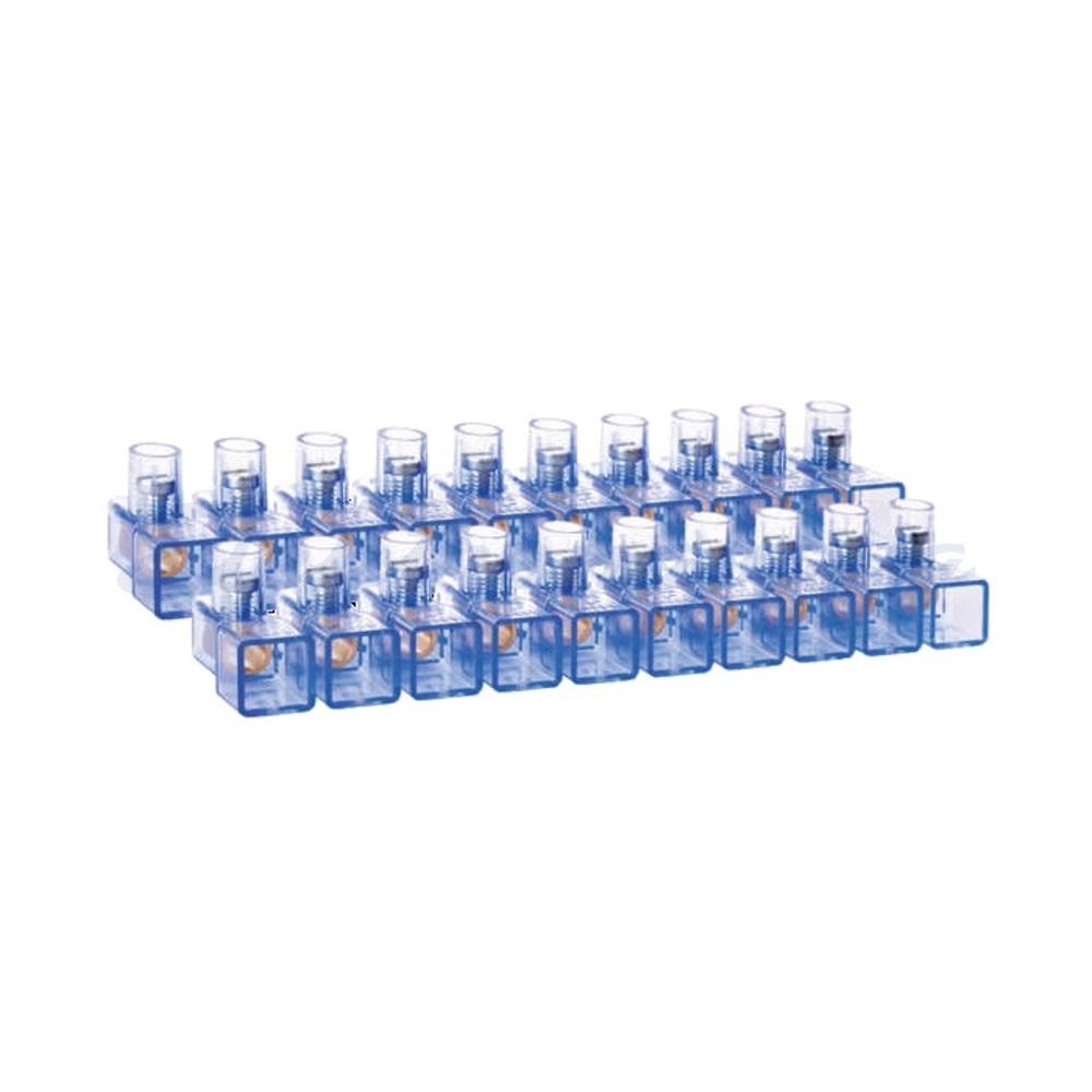 Slika izdelkaVrstna sponka BM Paket enorednih zaprtih sponk od 1,5-6,0mm2 +udarni vrtalnimm2 vijačnik 18VP