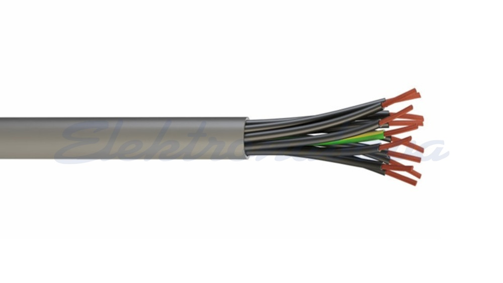 Slika izdelkaKontrolni kabel YSLY-JZ 3G0,75mm2 SI Eca