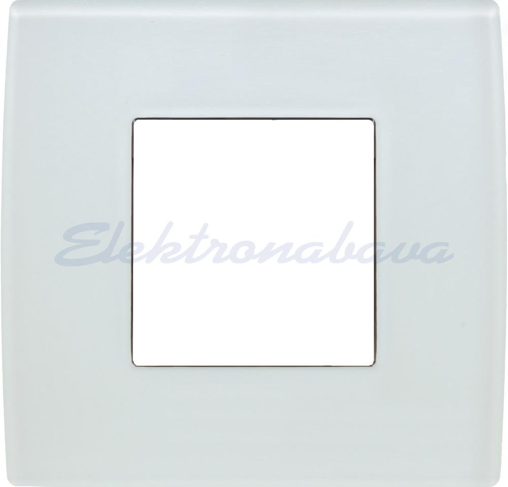 Slika izdelkaOkrasni okvir PURE Unipack 2M BE Steklo